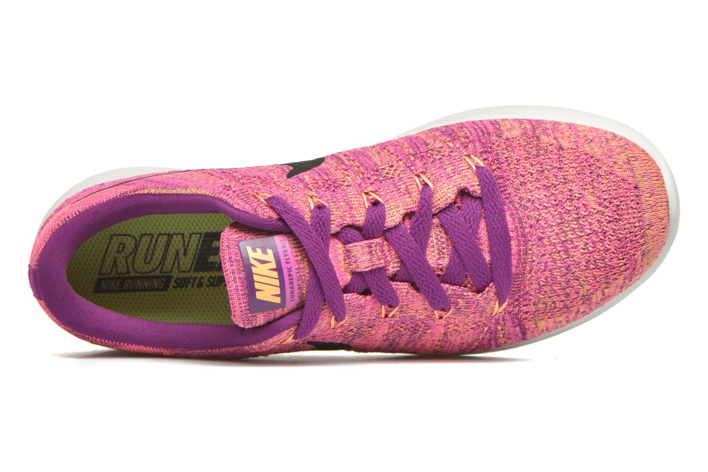 Chaussures de sport Nike W Nike Lunarepic Low Flyknit Violet vue gauche