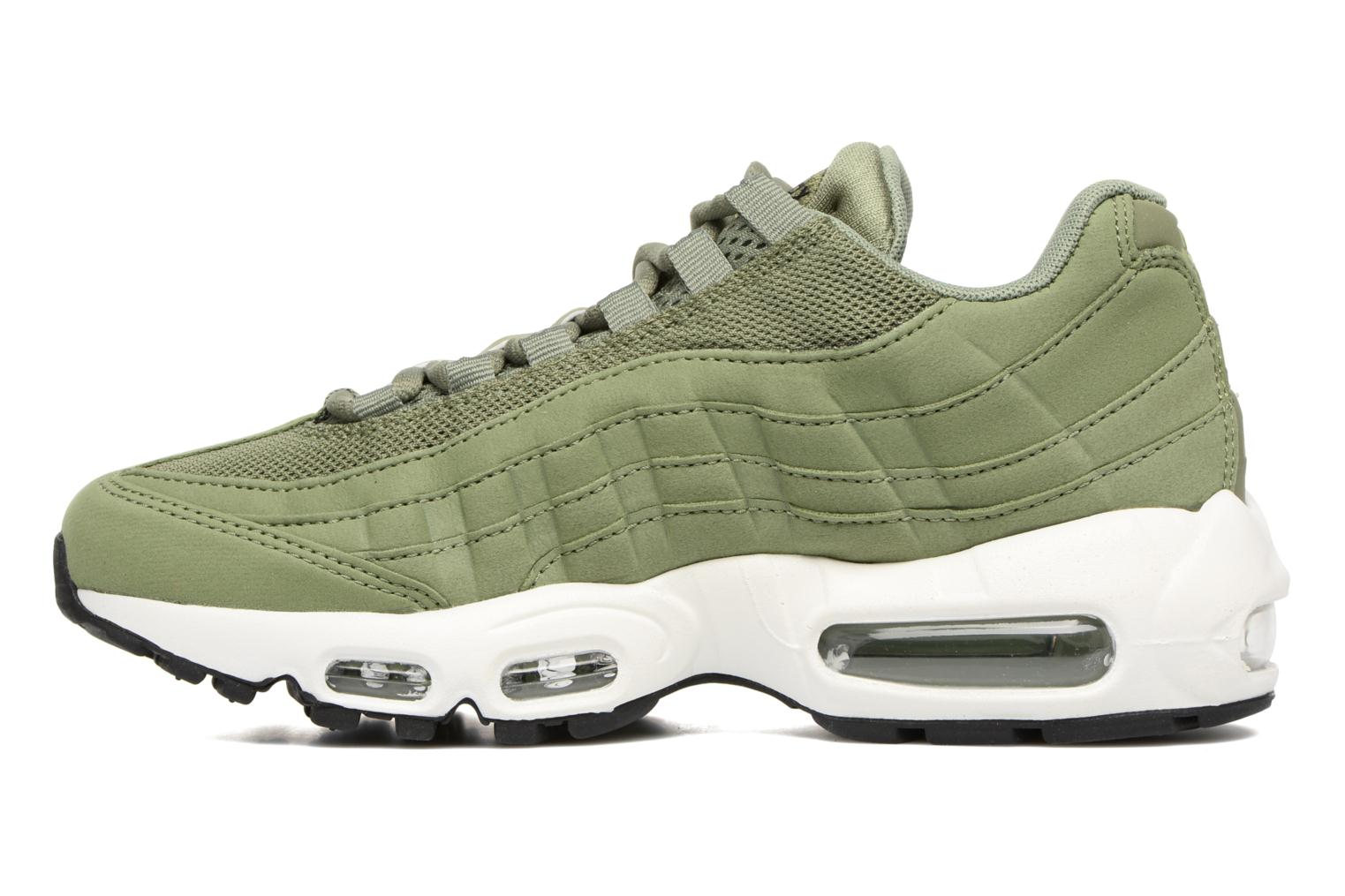 Barely Rose/Hot Punch-Vintage Wine-White Nike Wmns Air Max 95 (Rose)