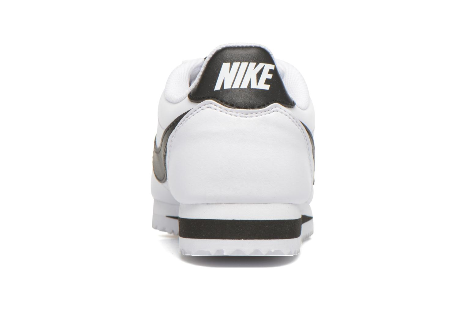 Wmns Classic Cortez Leather White/Black-White