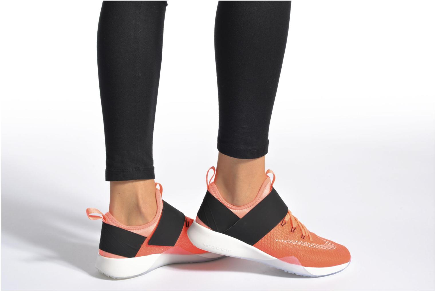 Sport shoes Nike Wmns Nike Air Zoom Strong Orange view from underneath / model view
