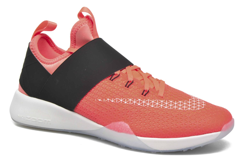 Sportssko Nike Wmns Nike Air Zoom Strong Orange detaljeret billede af skoene