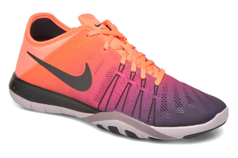 Sportssko Nike Wmns Nike Free Tr 6 Spctrm Orange detaljeret billede af skoene