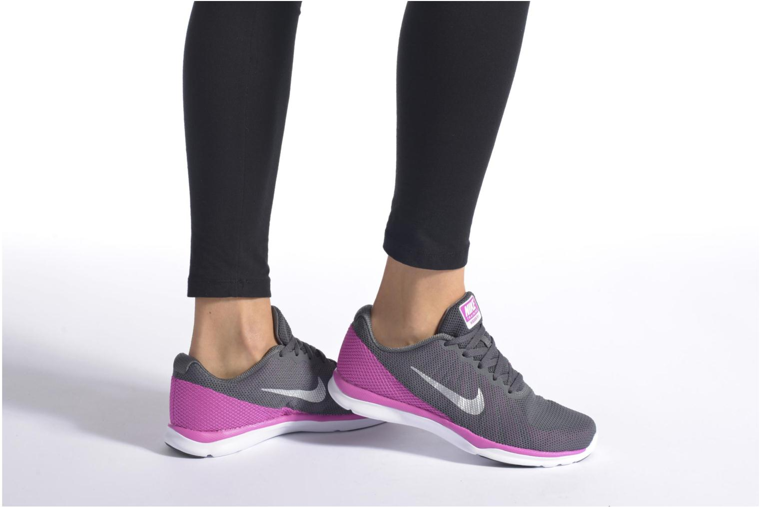 Wmns Nike In-Season Tr 6 Dark Grey/Mtlc Platinum-Fire Pink