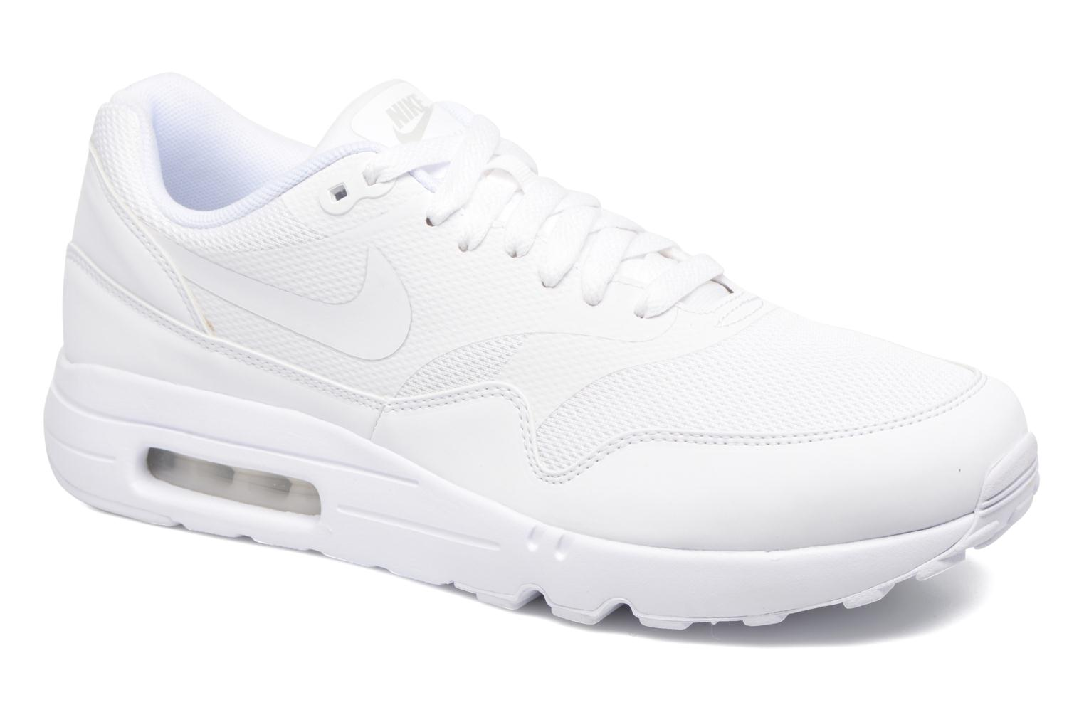 Baskets Nike Air Max 1 Ultra 2.0 Essential Blanc vue détail/paire