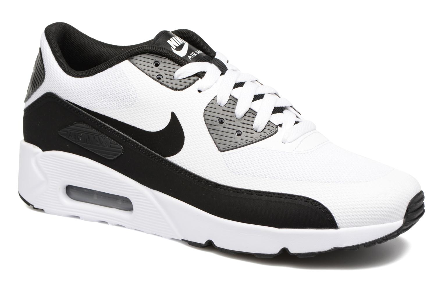 Baskets Nike Air Max 90 Ultra 2.0 Essential Blanc vue détail/paire