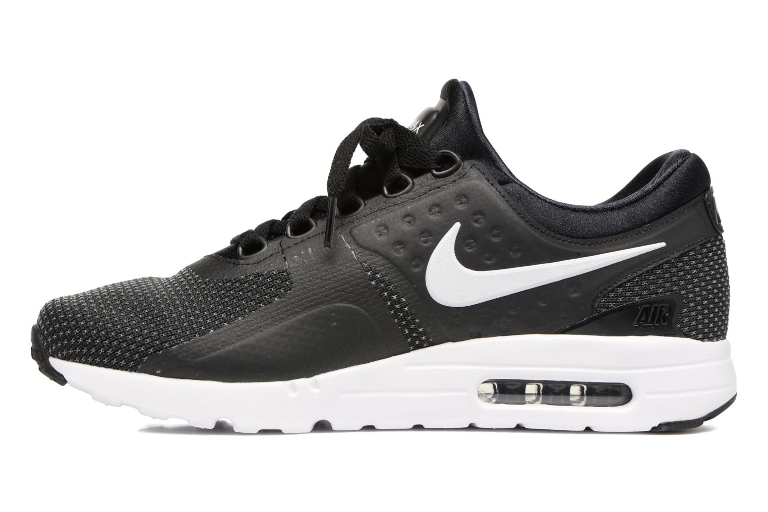 Nike Air Max Zero Essential Black White Dark Grey