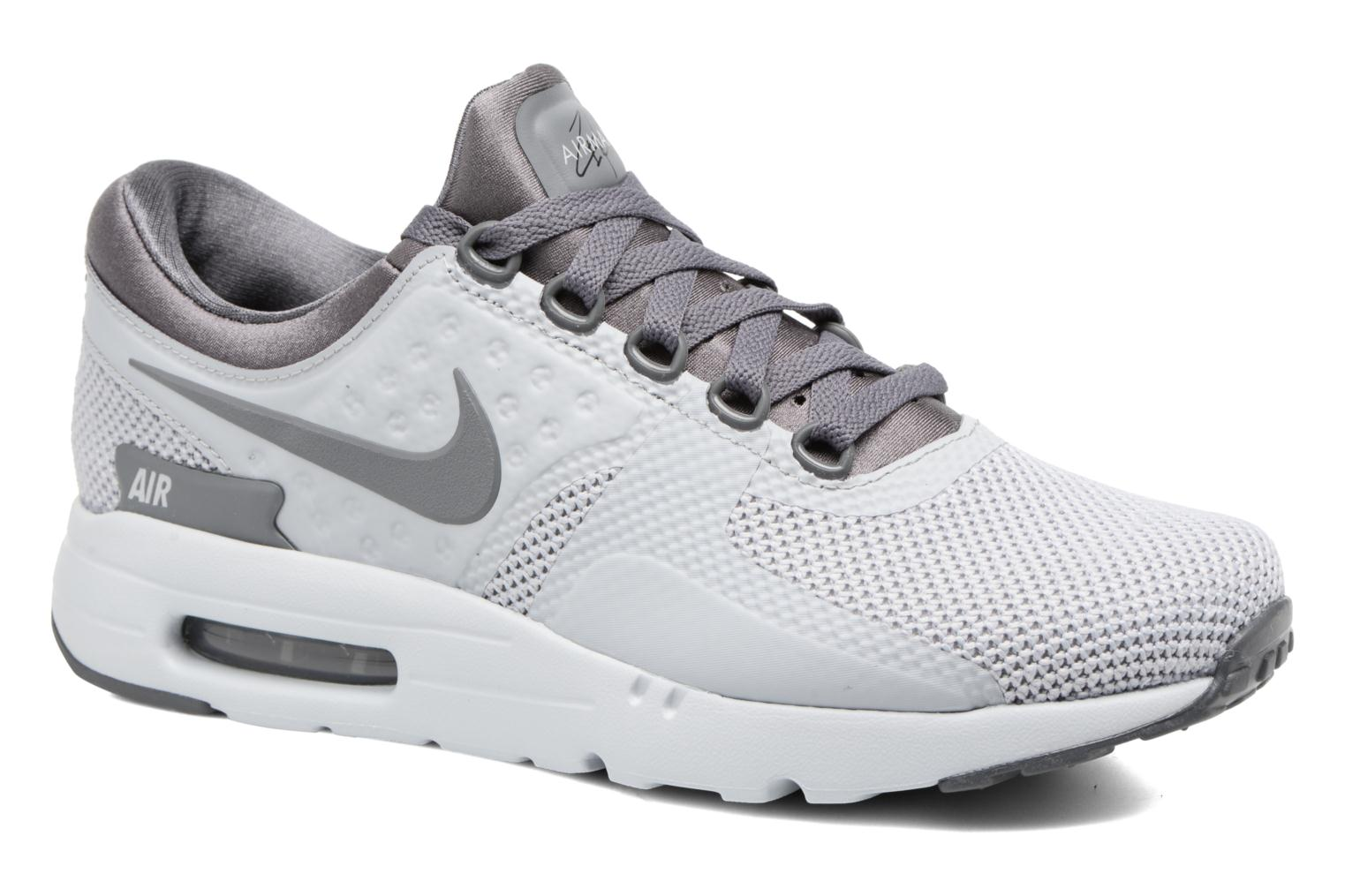 Black White Wolf Grey Nike Nike Air Max Zero Essential (Blanc)