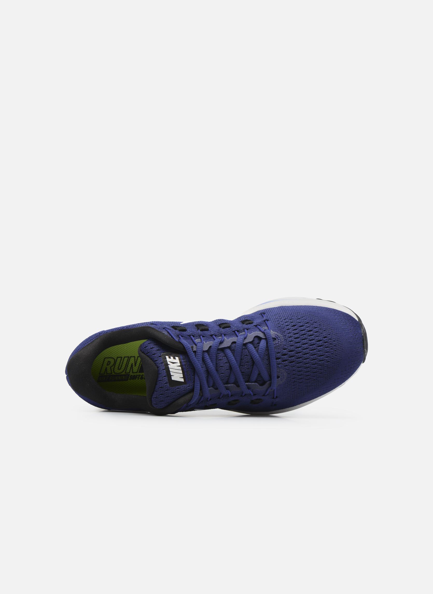 Chaussures de sport Nike Nike Air Zoom Vomero 12 Bleu vue gauche