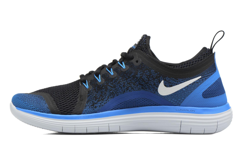 Chaussures de sport Nike Nike Free Rn Distance 2 Noir vue face