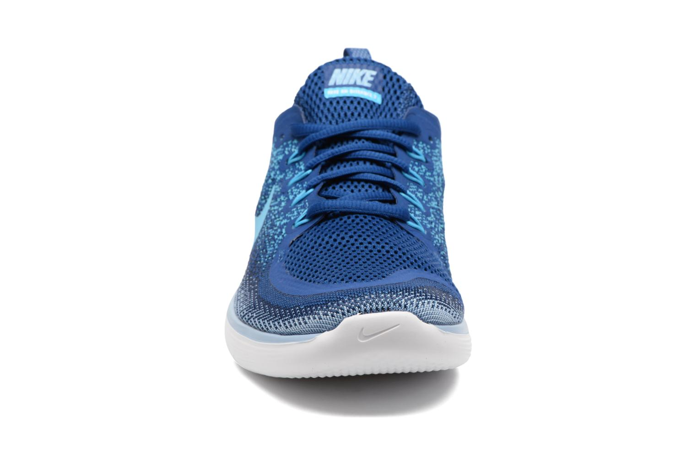 Chaussures de sport Nike Nike Free Rn Distance 2 Bleu vue portées chaussures