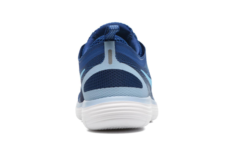 Chaussures de sport Nike Nike Free Rn Distance 2 Bleu vue droite