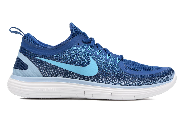Chaussures de sport Nike Nike Free Rn Distance 2 Bleu vue derrière
