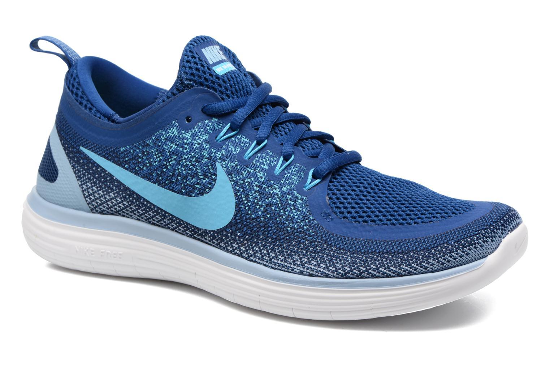 Chaussures de sport Nike Nike Free Rn Distance 2 Bleu vue détail/paire