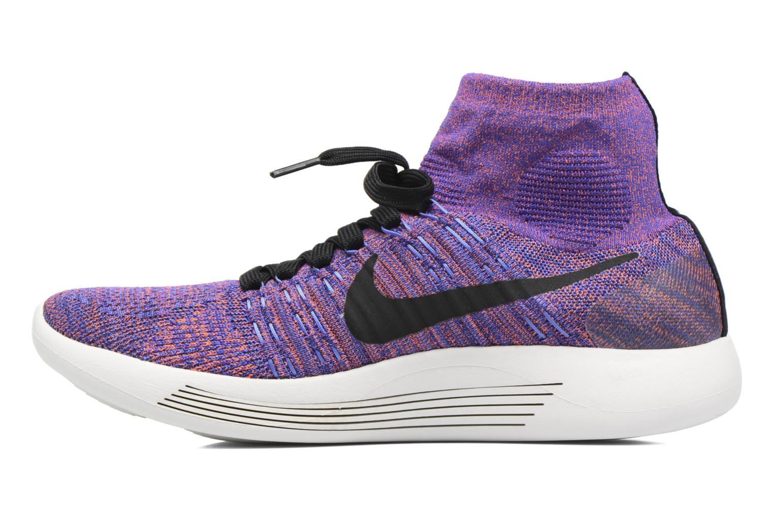 Sport shoes Nike Nike Lunarepic Flyknit Blue front view