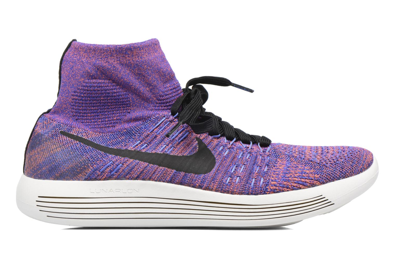 Sport shoes Nike Nike Lunarepic Flyknit Blue back view