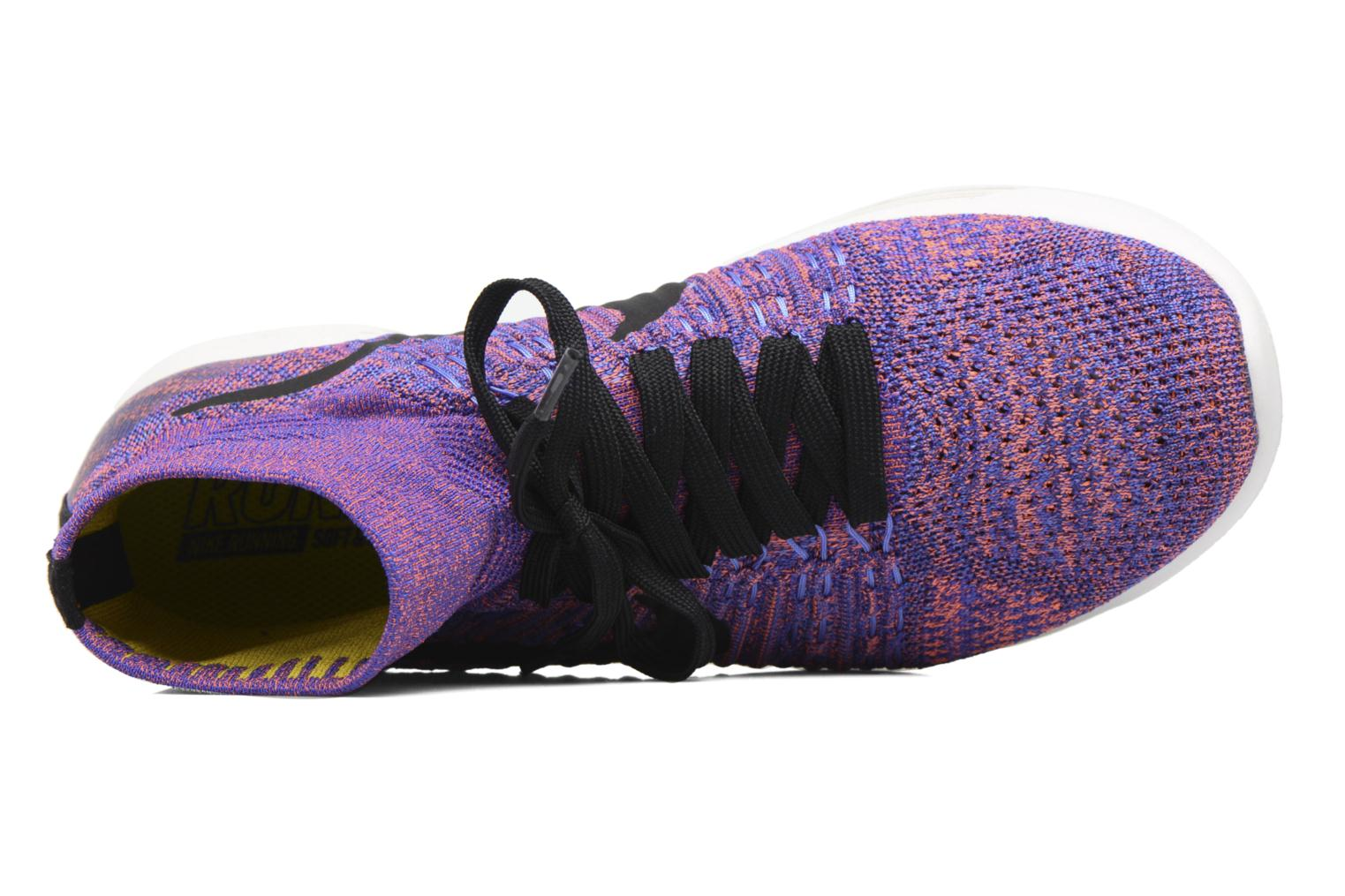 Sport shoes Nike Nike Lunarepic Flyknit Blue view from the left
