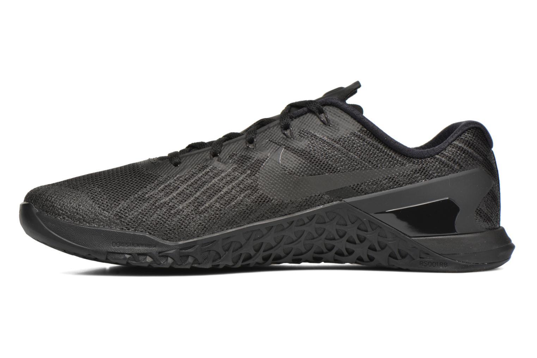 Chaussures de sport Nike Nike Metcon 3 Noir vue face