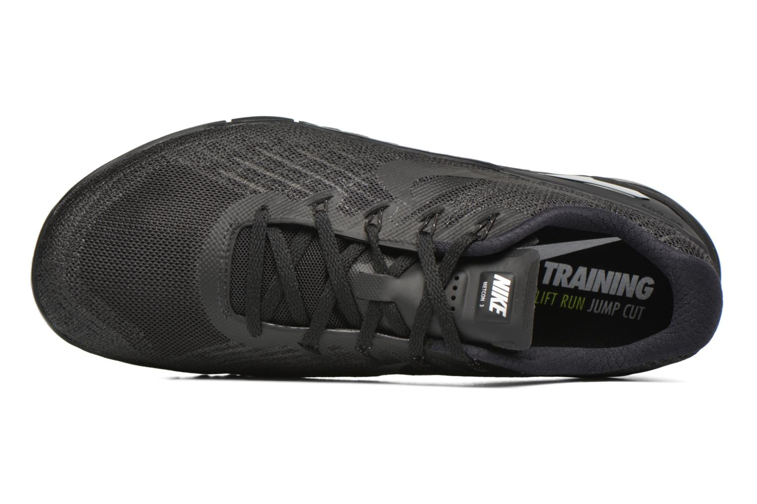 Sport shoes Nike Nike Metcon 3 Black view from the left