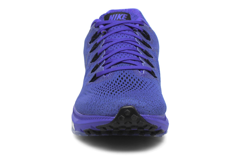 Chaussures de sport Nike Nike Zoom All Out Low Bleu vue portées chaussures