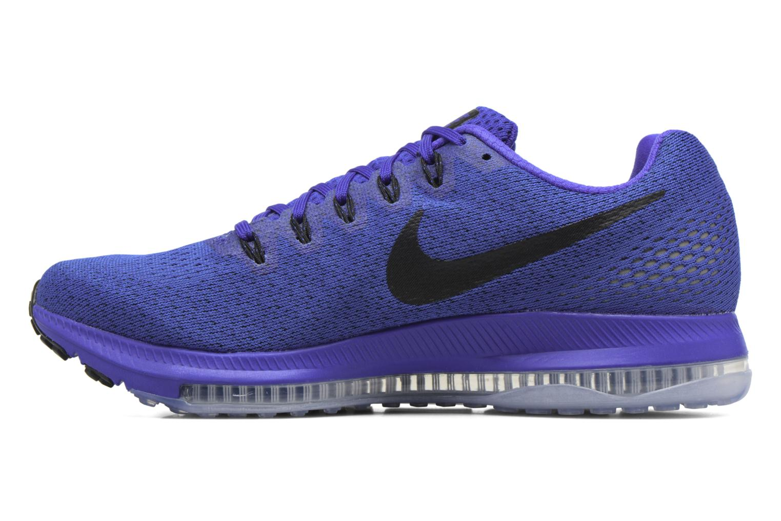 Chaussures de sport Nike Nike Zoom All Out Low Bleu vue face