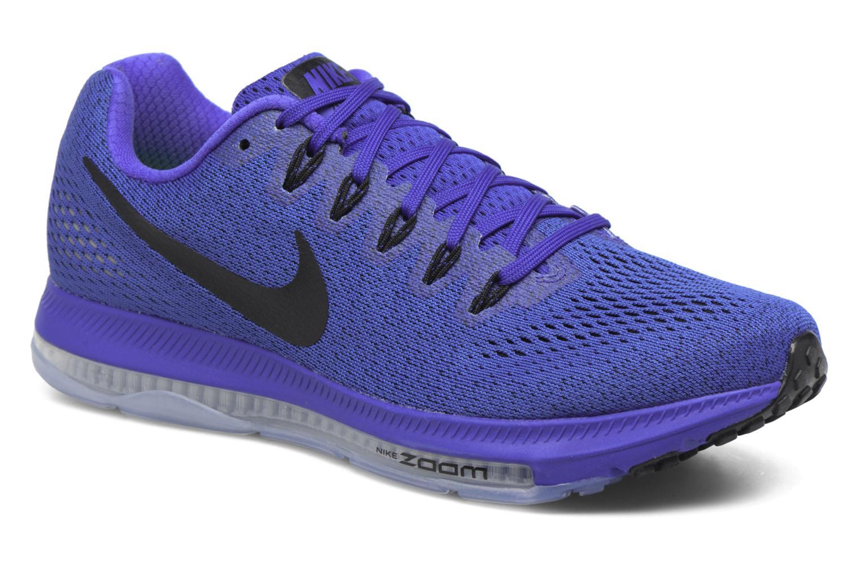 Chaussures de sport Nike Nike Zoom All Out Low Bleu vue détail/paire