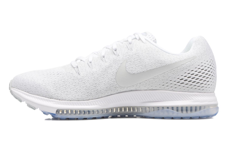 Zapatillas de deporte Nike Nike Zoom All Out Low Blanco vista de frente