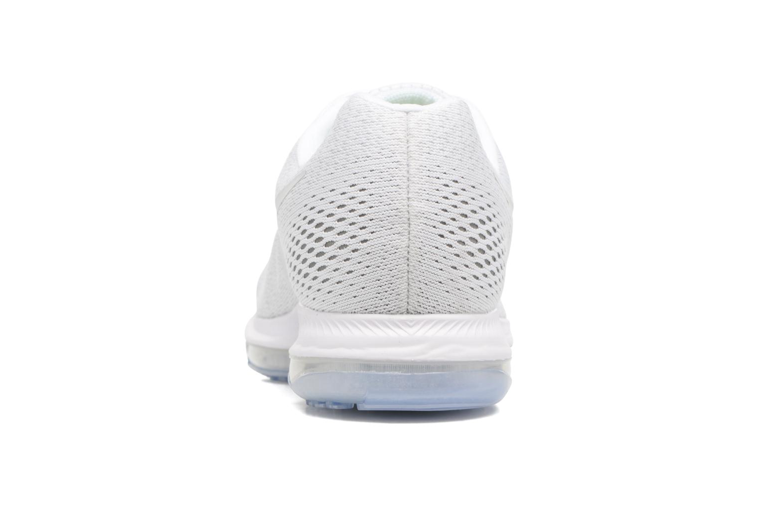 Chaussures de sport Nike Nike Zoom All Out Low Blanc vue droite