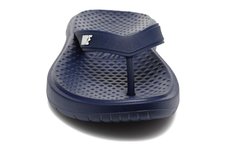 Infradito Nike Solay Thong Azzurro modello indossato