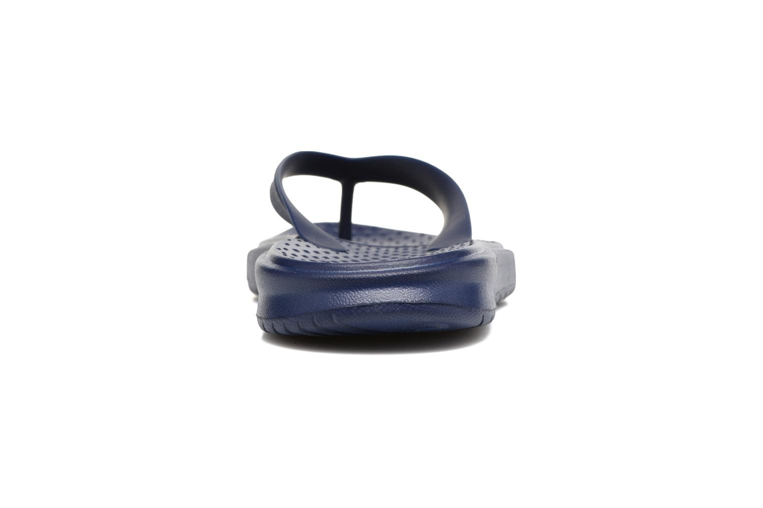 Chanclas Nike Solay Thong Azul vista lateral derecha