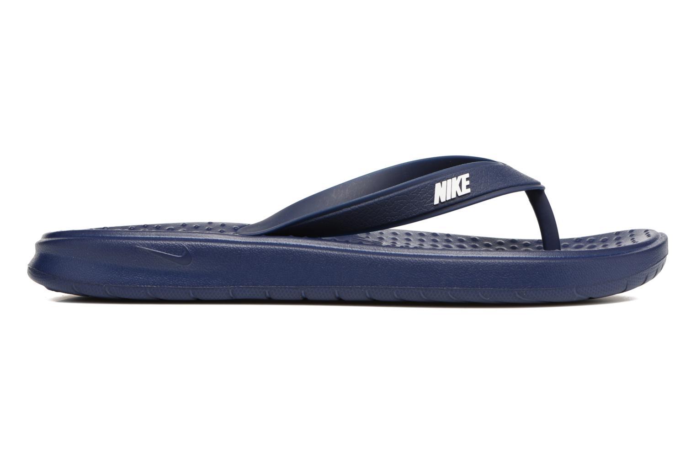 Infradito Nike Solay Thong Azzurro immagine posteriore