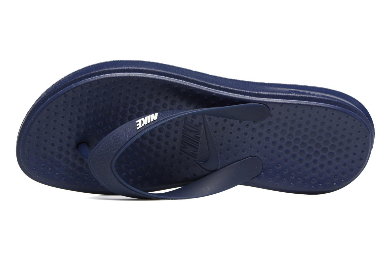 Infradito Nike Solay Thong Azzurro immagine sinistra