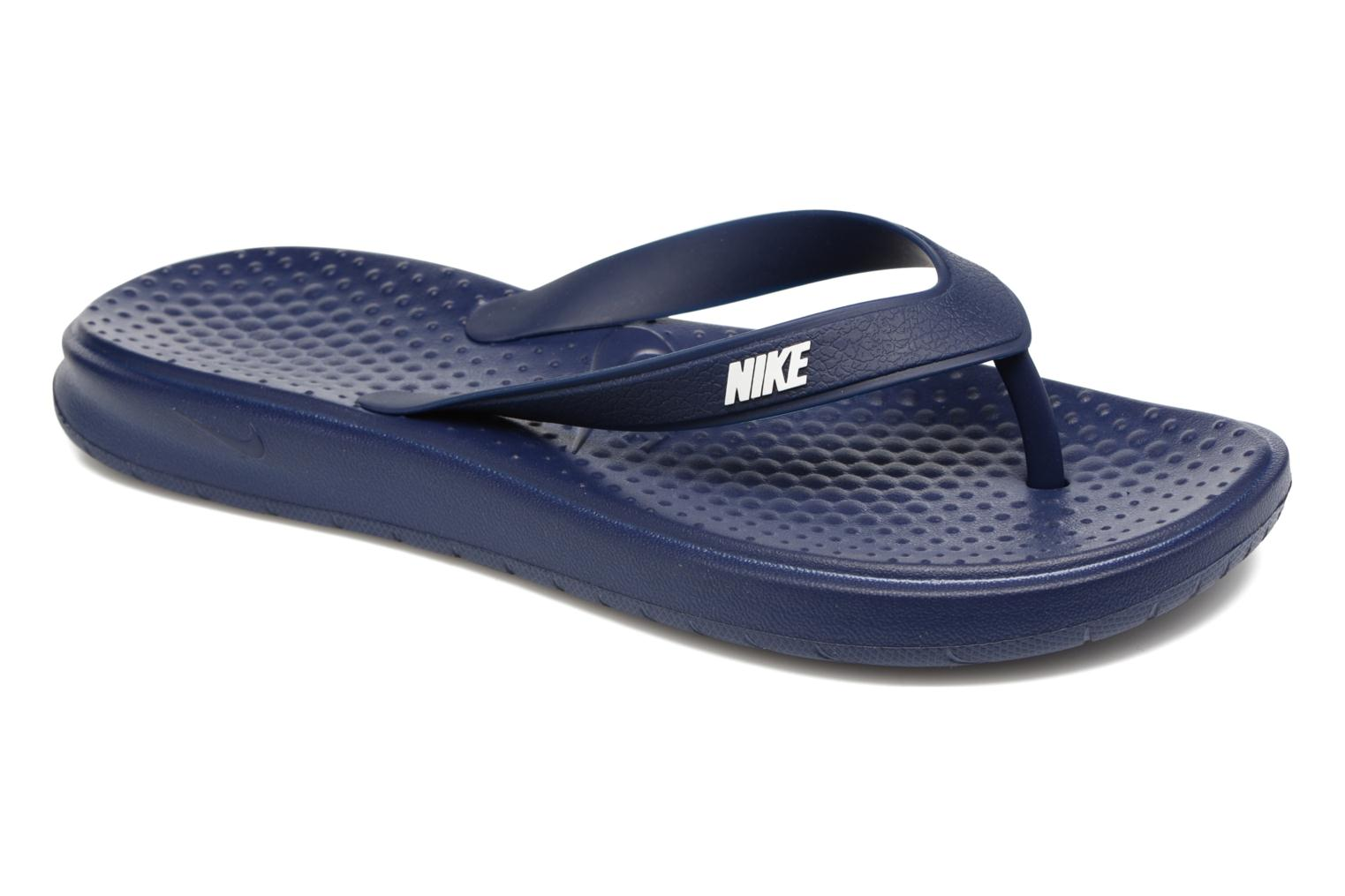 Slippers Nike Solay Thong Blauw detail