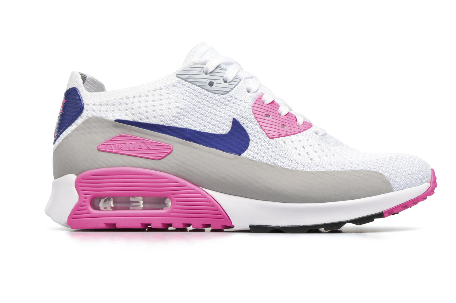 Sneakers Nike W Air Max 90 Ultra 2.0 Flyknit Bianco immagine posteriore