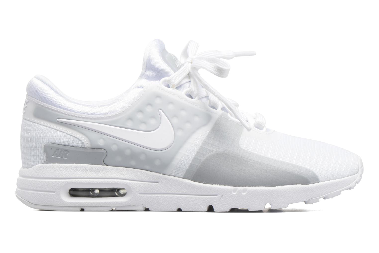 Trainers Nike W Air Max Zero Si White back view