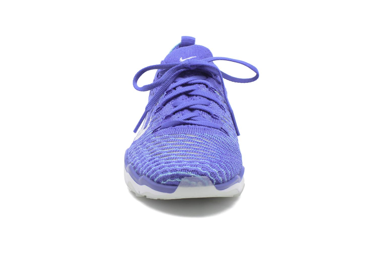 W Air Zoom Fearless Flyknit Medium Blue/White-Polarized Blue