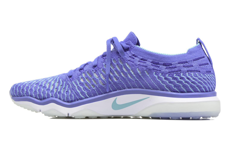 Sportssko Nike W Air Zoom Fearless Flyknit Blå se forfra