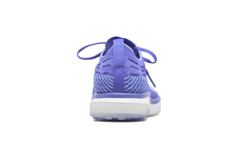 Sportssko Nike W Air Zoom Fearless Flyknit Blå Se fra højre