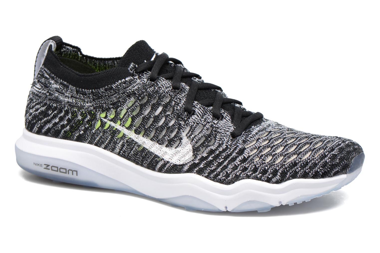 Sportssko Nike W Air Zoom Fearless Flyknit Grå detaljeret billede af skoene