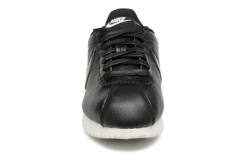 W Classic Cortez Leather Prem Black/Black-Ivory
