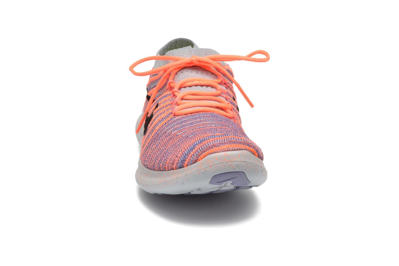 W Nike Free Rn Motion Flyknit Bright Mango/Black-Iron Purple-Wolf Grey