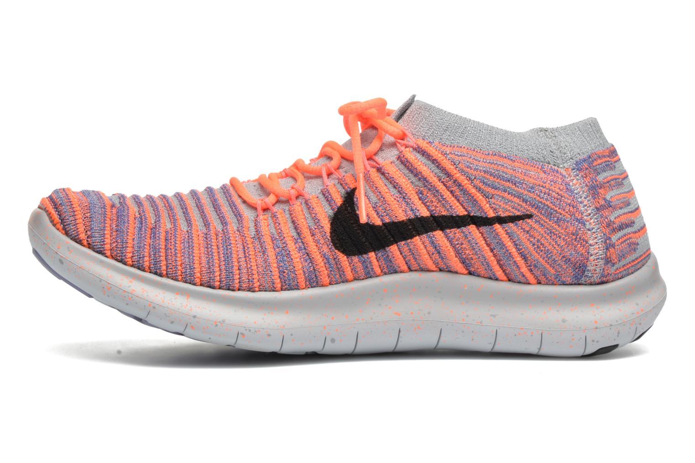 Chaussures de sport Nike W Nike Free Rn Motion Flyknit Gris vue face
