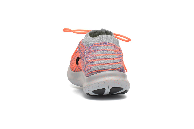 Zapatillas de deporte Nike W Nike Free Rn Motion Flyknit Gris vista lateral derecha