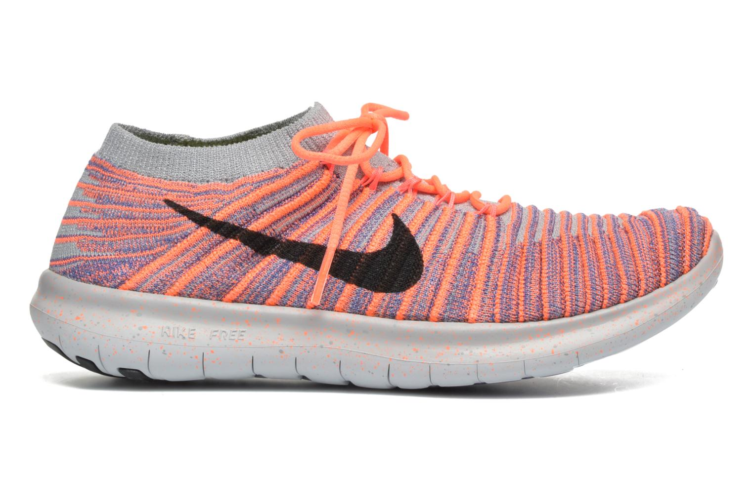W Nike Free Rn Motion Flyknit Bright Mango/Black-Iron Purple-Wolf Grey
