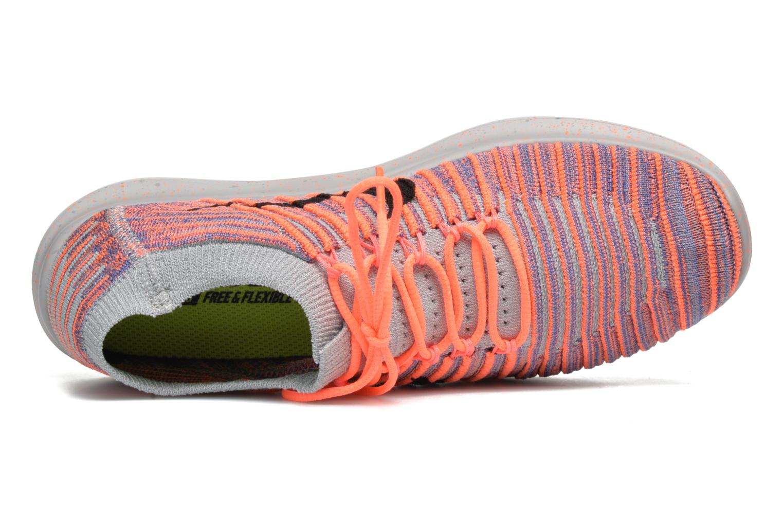 Zapatillas de deporte Nike W Nike Free Rn Motion Flyknit Gris vista lateral izquierda