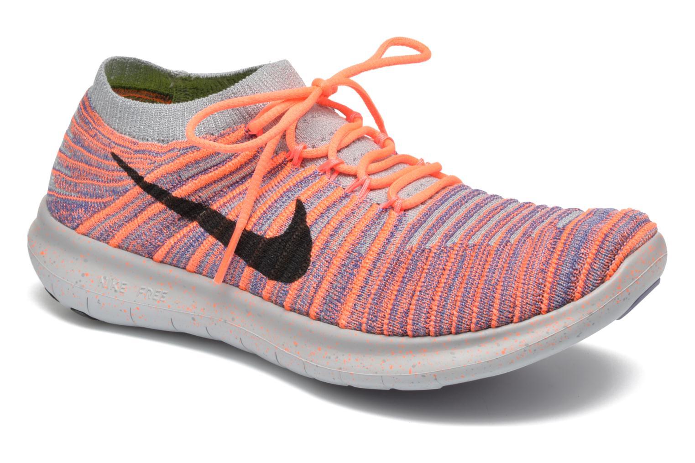Zapatillas de deporte Nike W Nike Free Rn Motion Flyknit Gris vista de detalle / par