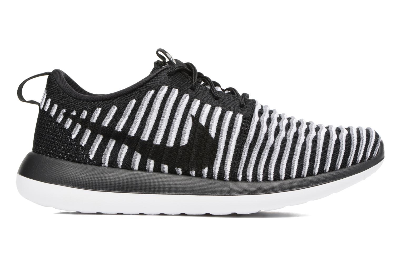 Deportivas Nike W Nike Roshe Two Flyknit Negro vistra trasera