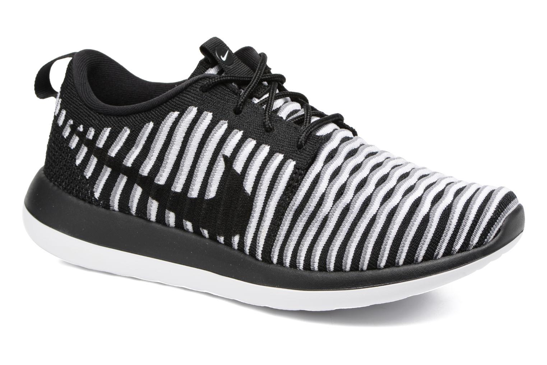 Sneaker Nike W Nike Roshe Two Flyknit schwarz detaillierte ansicht/modell