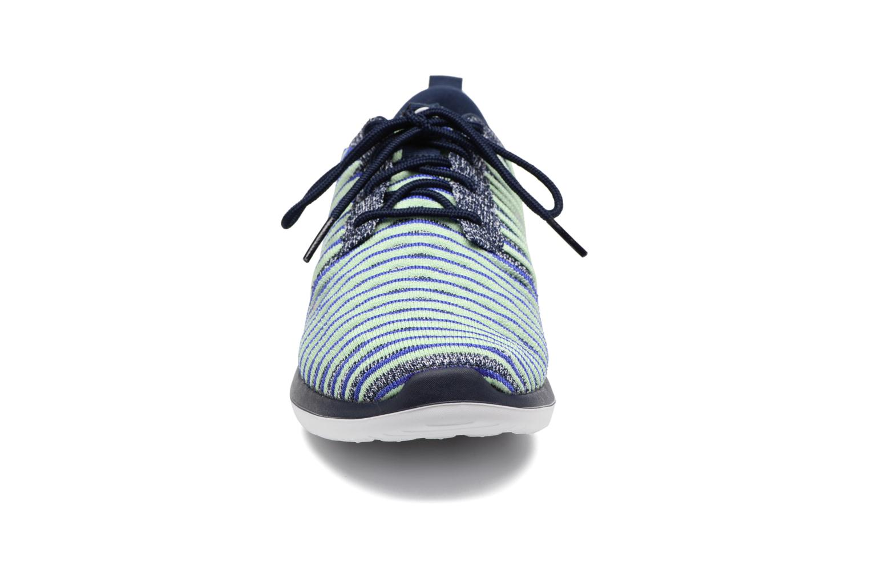 Sneaker Nike W Nike Roshe Two Flyknit blau schuhe getragen