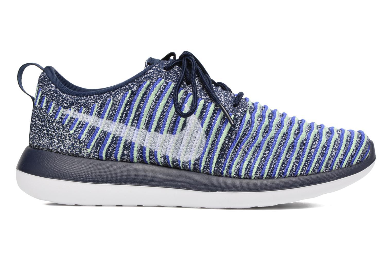 Deportivas Nike W Nike Roshe Two Flyknit Azul vistra trasera