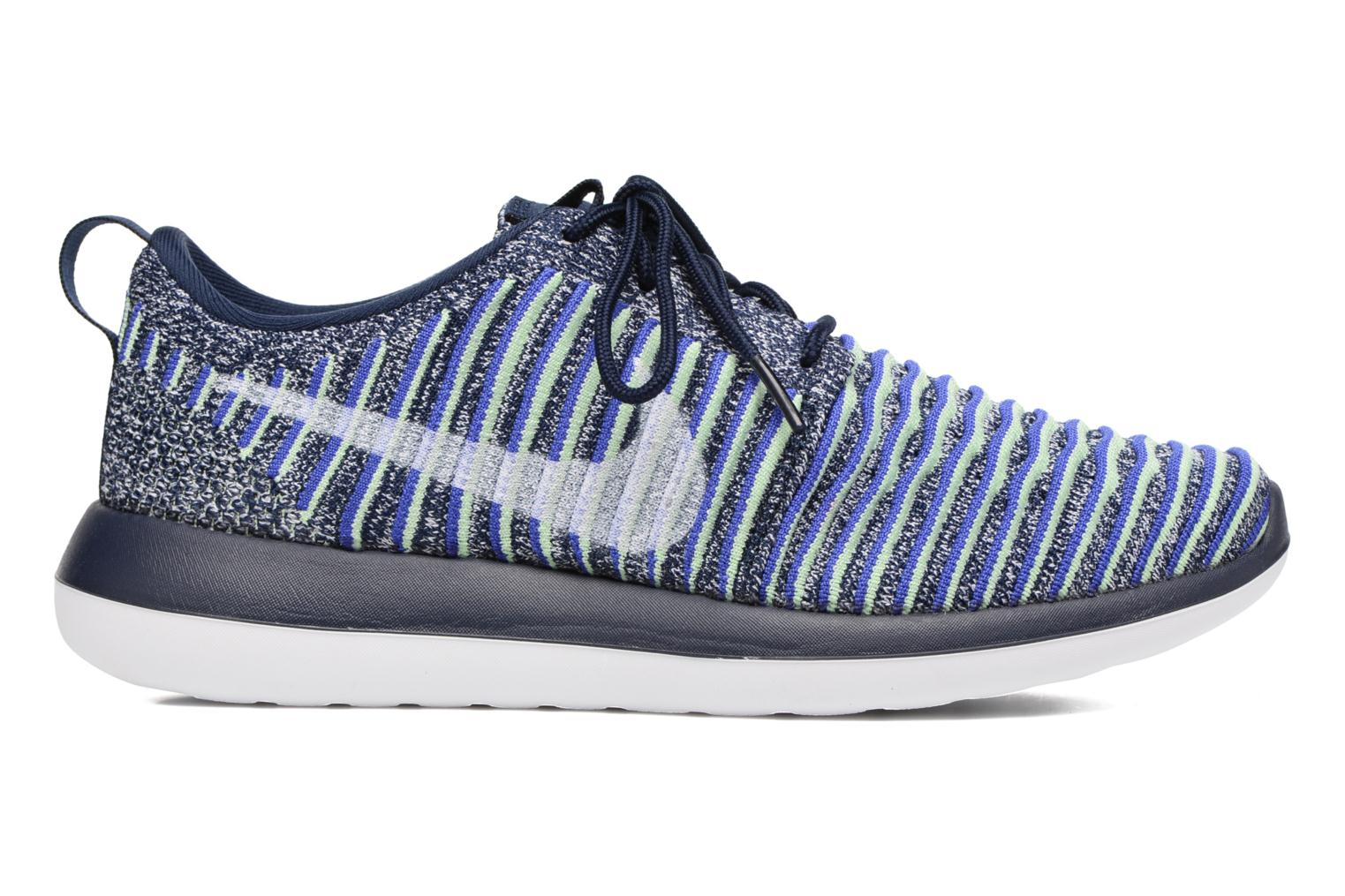 Trainers Nike W Nike Roshe Two Flyknit Blue back view